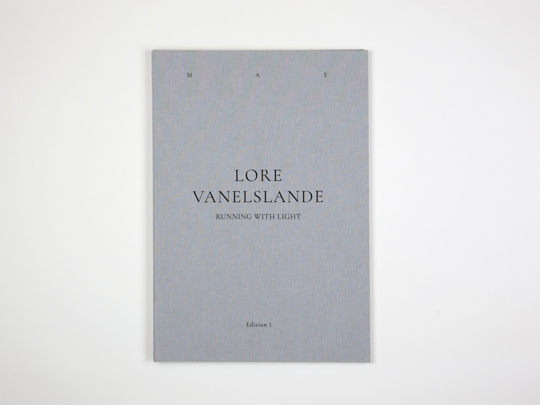 Catalogus cover design MAF edition 1 with Lore Vanelslande. Graphic design by Lieselot Verdeyen